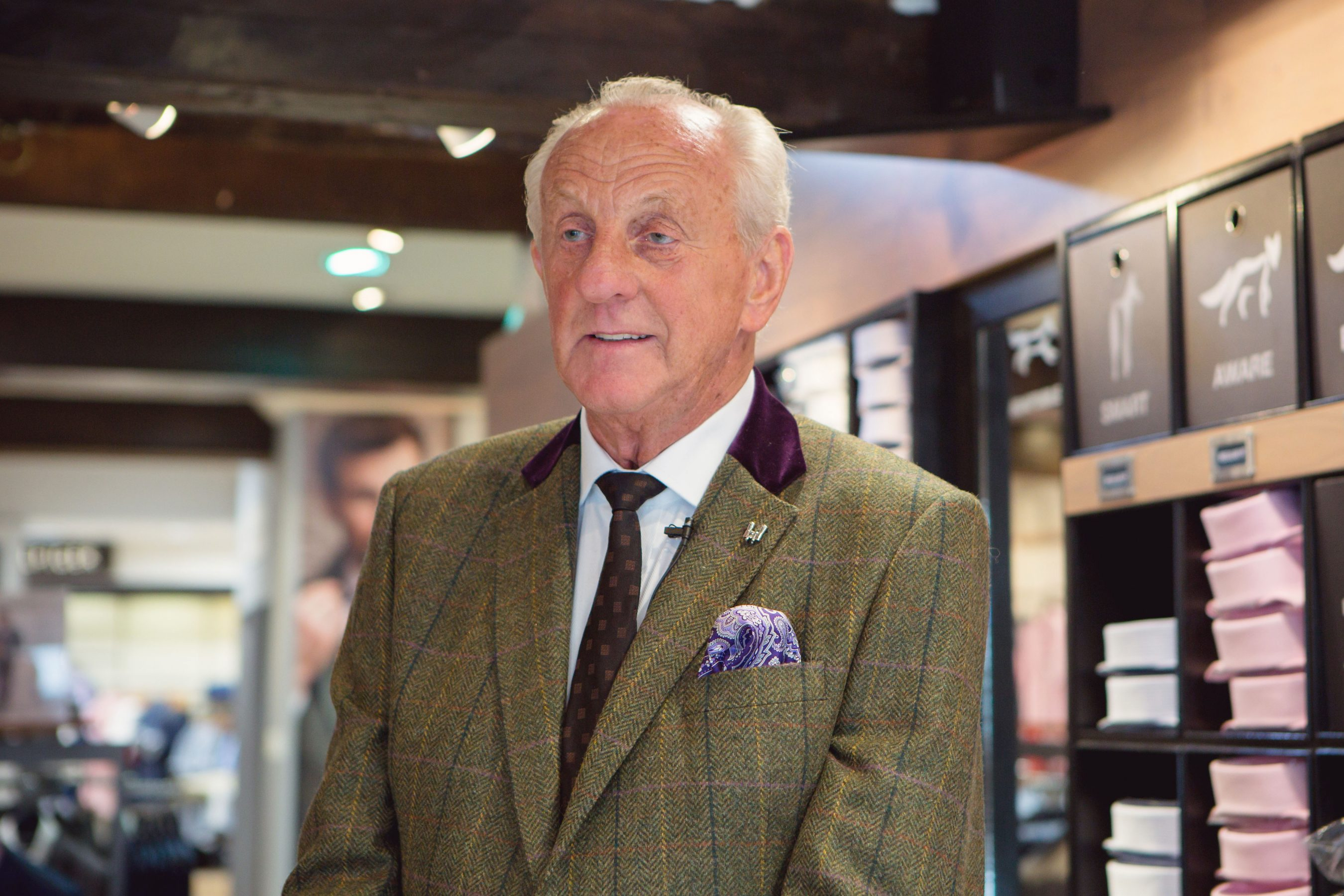 Paul Costelloe at Six Days of Style