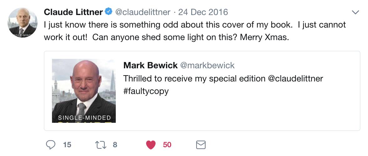 Claude Littner Response