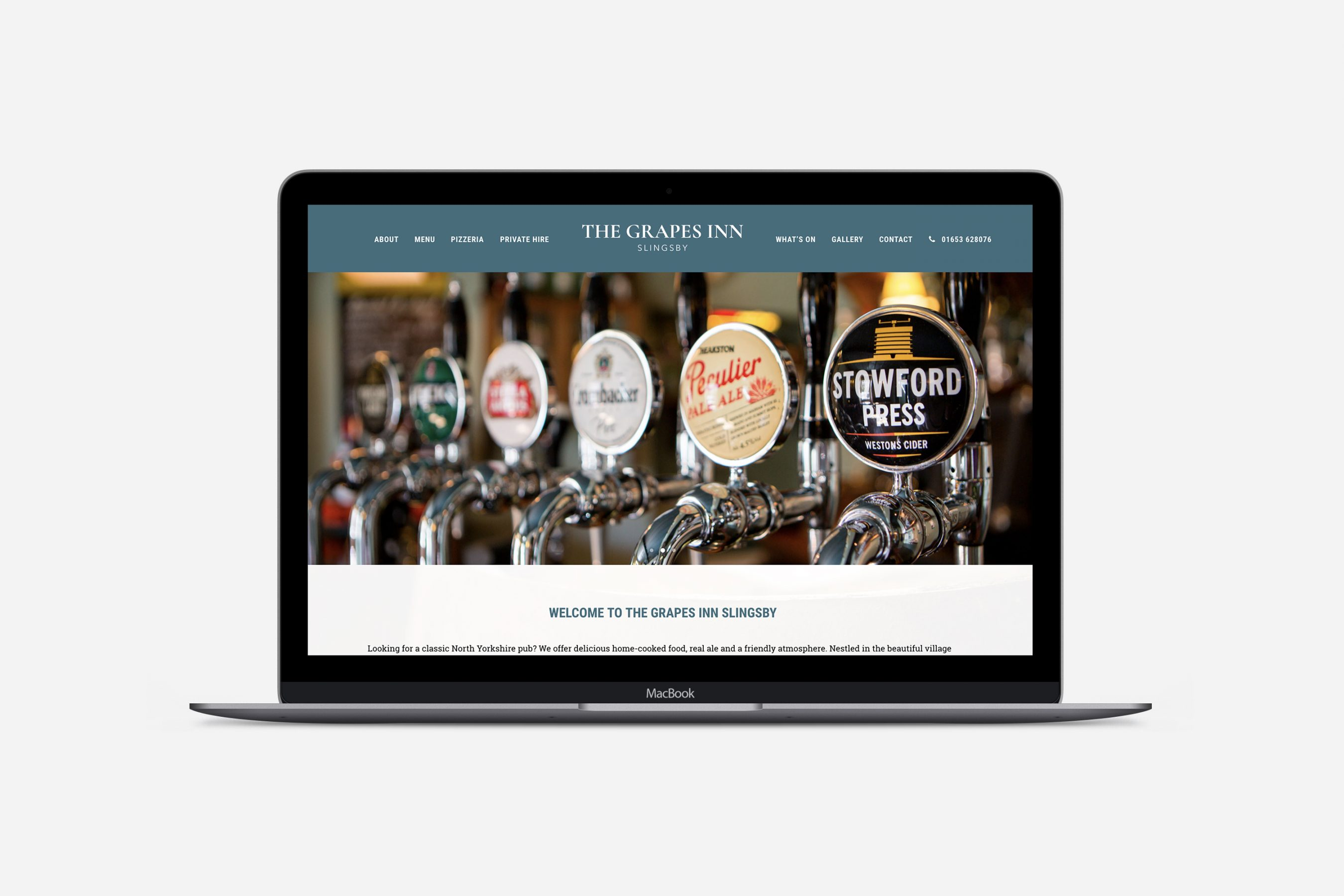 The Grapes Inn Slingsby Screenshot