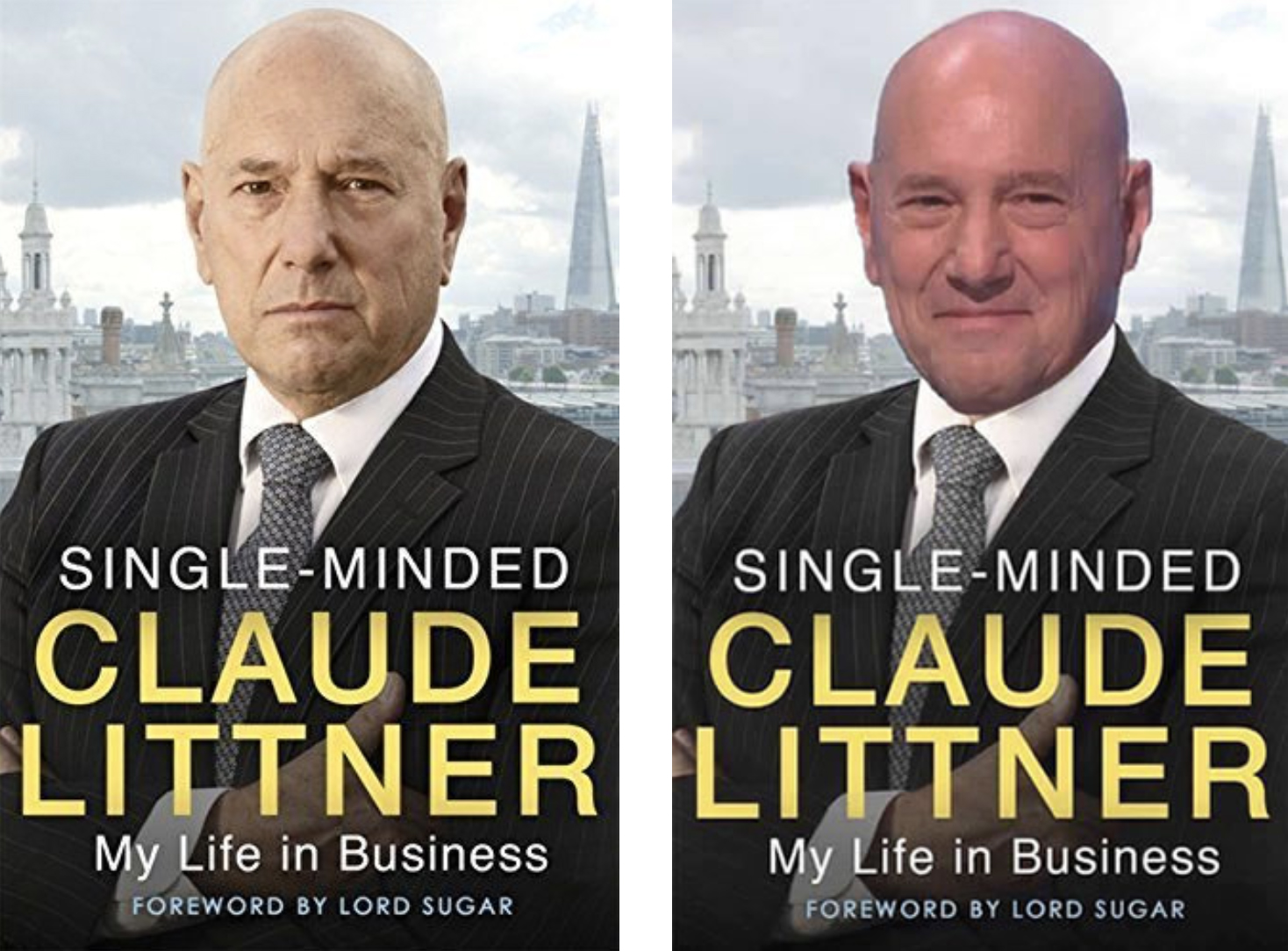 Cracking a smile with Claude Littner