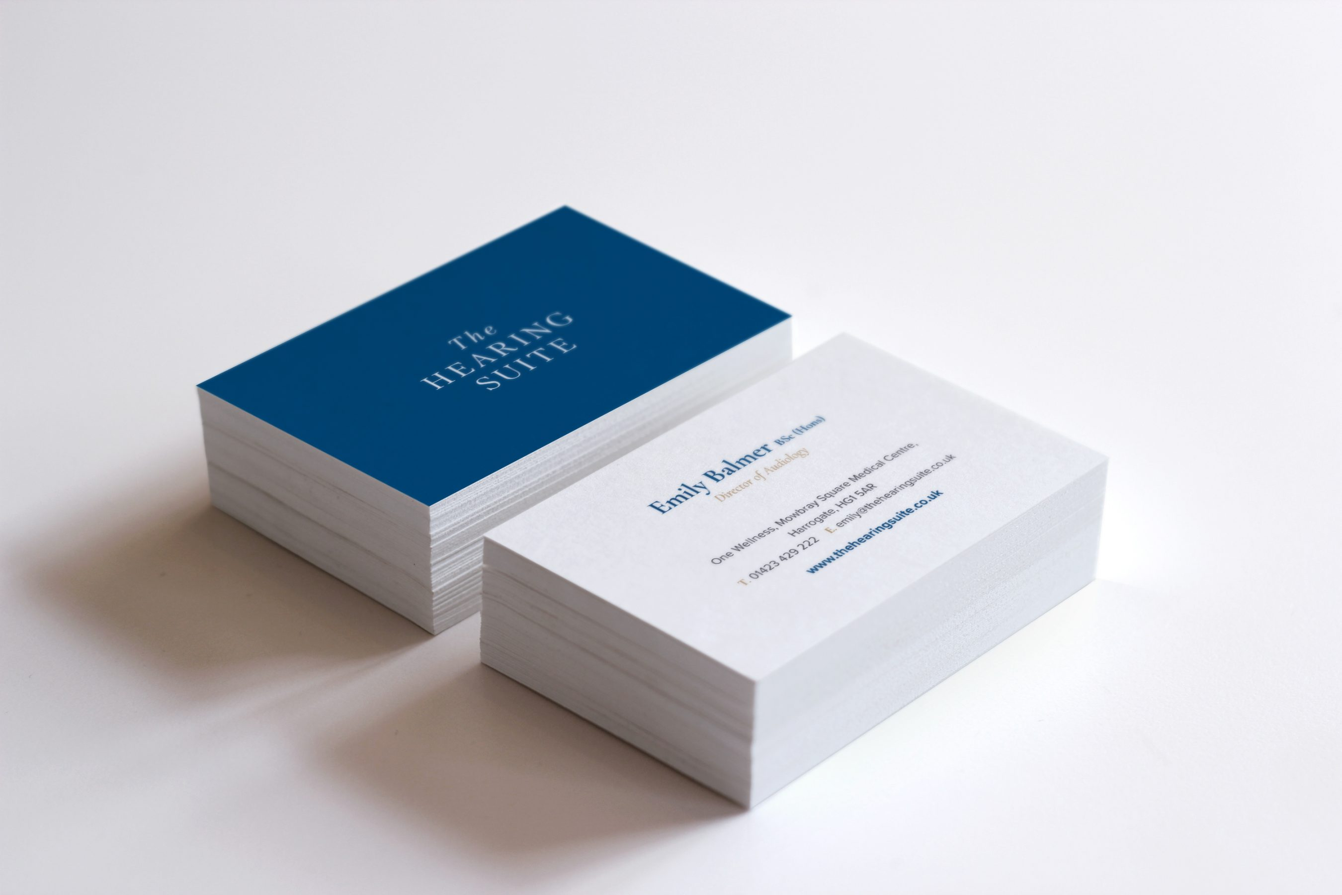 The Hearing Suite Business Cards