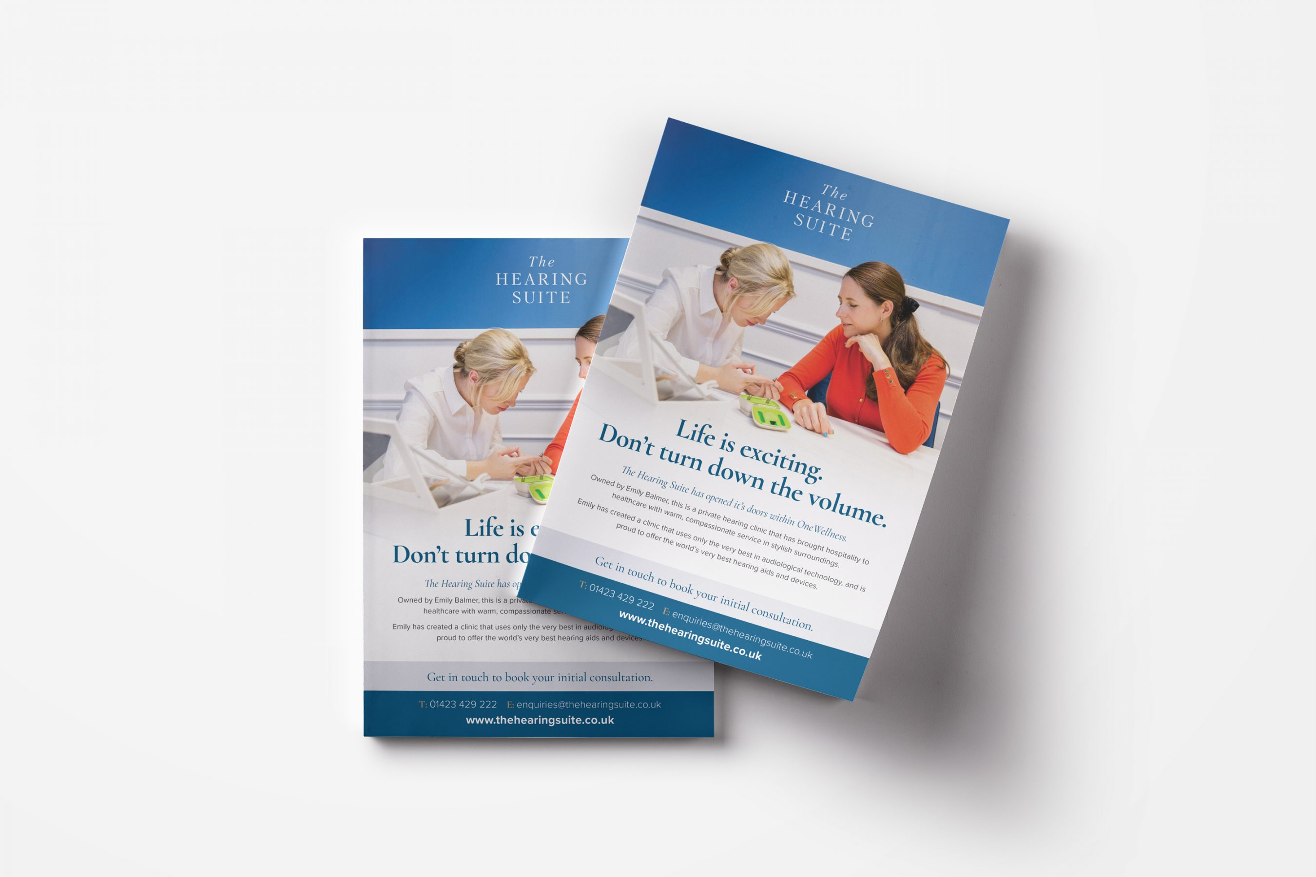 The Hearing Suite Leaflets