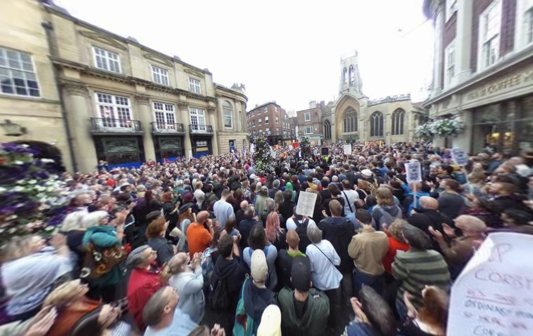 Jeremy Corbyn in York 360 Photo